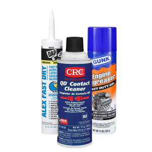 Spray and Lubricants